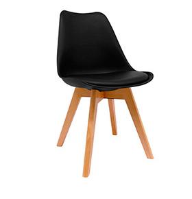 Cadeira Nórdica Bonik| Preto