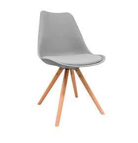 Cadeira Nórdica Bonik | Cinza