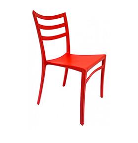 Cadeira Nivet | Vermelho