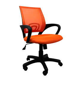 Cadeira de Escritório Midi | Laranja