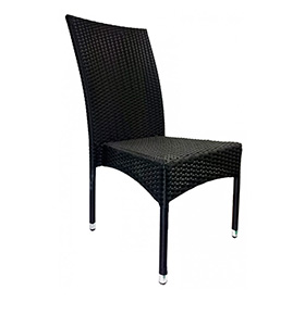Cadeira de Terraço| Preto