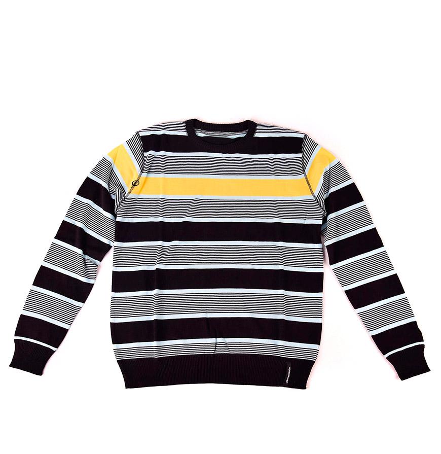Camisola Lightning Bolt® | Preto e Amarelo