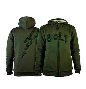 Casaco Lightning Bolt® com Capuz | Verde