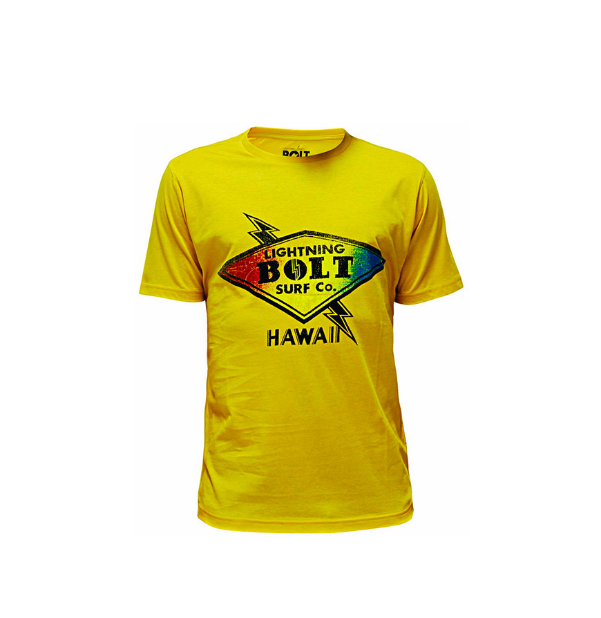 T-shirt Lightning Bolt® Super Bolt | Amarelo