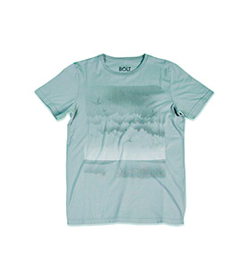 T-shirt Lightning Bolt® Sky Surf | Cinzento