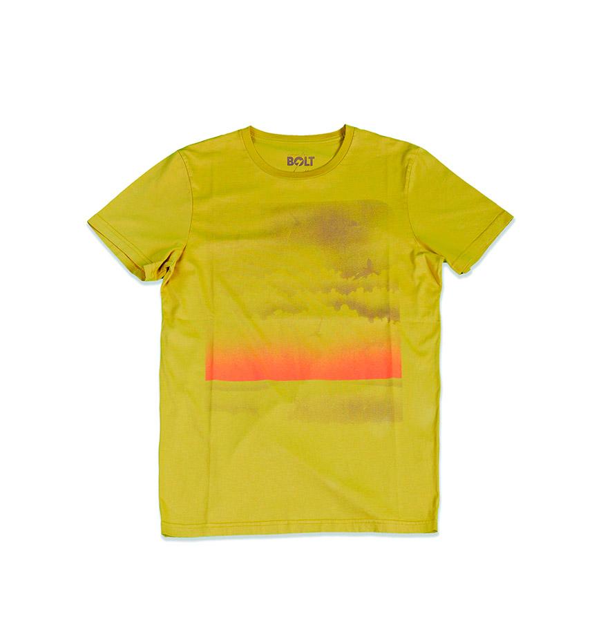 T-shirt Lightning Bolt® Sky Surf | Amarelo