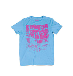 T-shirt Lightning Bolt® Surf Chick | Azul
