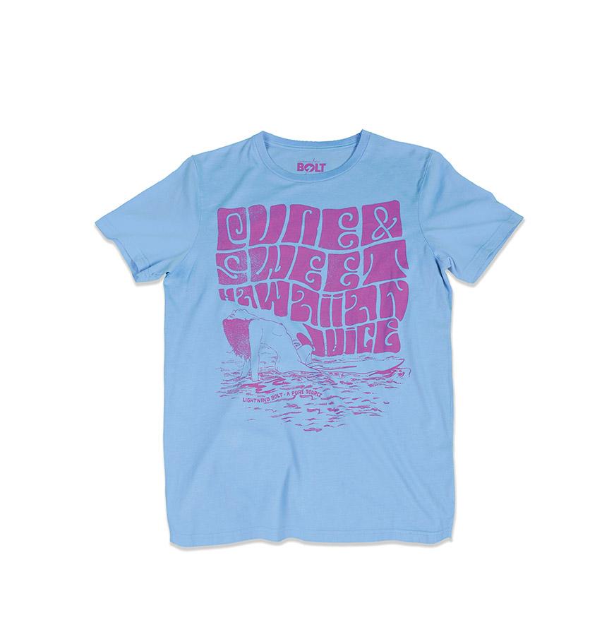 T-shirt Lightning Bolt® Surf Chick | Azul