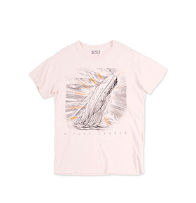 T-shirt Lightning Bolt® Moby | Branco