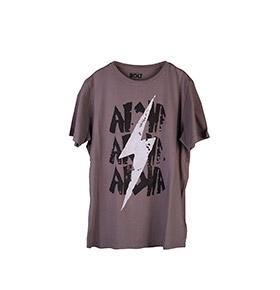 T-shirt Lightning Bolt® Lohas | Cinzento e Preto