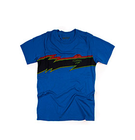 T-shirt Lightning Bolt® Sunset | Azul