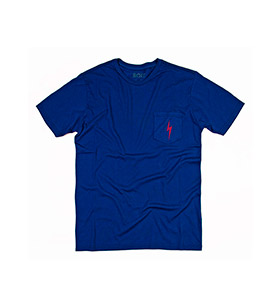 T-shirt Lightning Bolt® Pocket | Azul