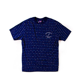 T-shirt Lightning Bolt® Thin Stripes | Azul