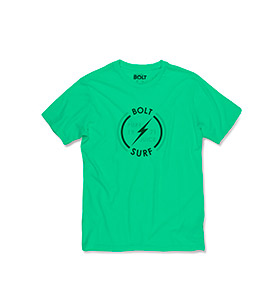 T-shirt Lightning Bolt® Surf | Verde
