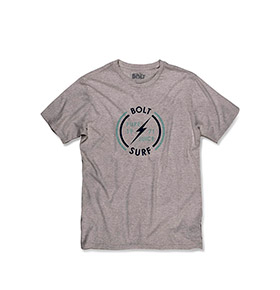 T-shirt Lightning Bolt® Surf | Cinzento