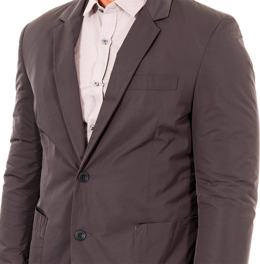 Blazer Antony Morato® Liso | Cinza Escuro