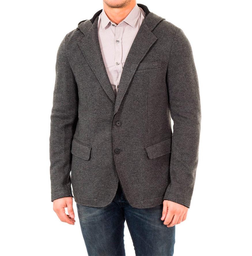 Blazer Antony Morato® com Capuz   Cinza Escuro