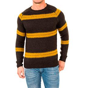 Camisola Antony Morato® | Castanho e Amarelo Torrado