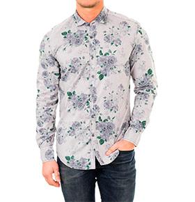 Camisa Antony Morato® Padrão Flores Cinza