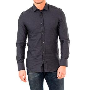 Camisa Antony Morato® | Preto com Riscas Leves