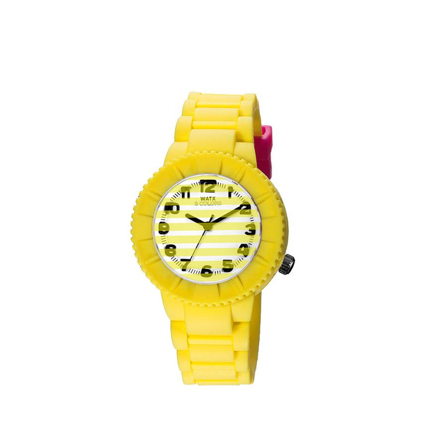 Relógio Watx & Colors® Barbie Kids   Amarelo
