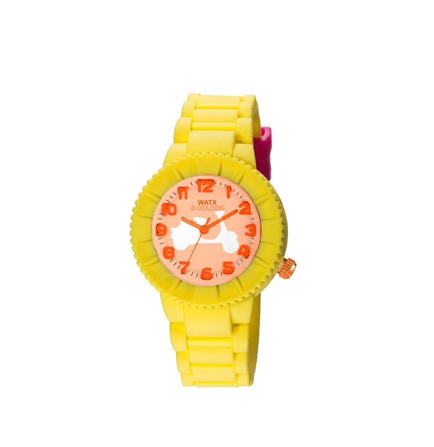 Relógio Watx & Colors® XS Smart Sixties   Amarelo
