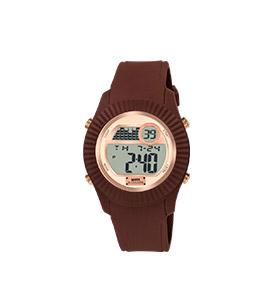Relógio Watx & Colors® M Rock | Castanho e Rosa Dourado
