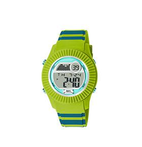 Relógio Watx & Colors® M Rock   Azul e Verde