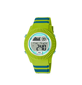 Relógio Watx & Colors® M Rock Candy Verde | Bicolor Azul Petróleo e Verde