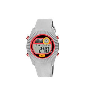 Relógio Watx & Colors® M Rock | Cinzento e Vermelho