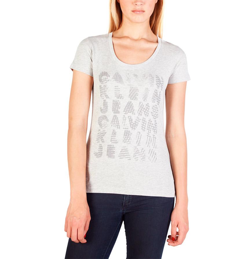 T-Shirt  Calvin Klein®    Cinza