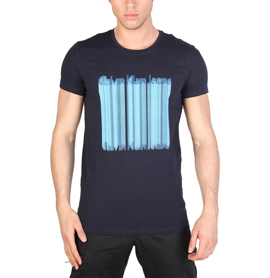 T-Shirt Homem Calvin Klein® |  Azul