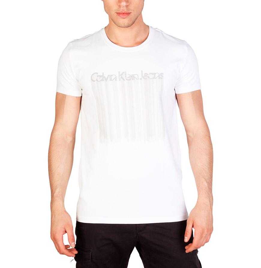 T-Shirt Homem Calvin Klein® |  Branca