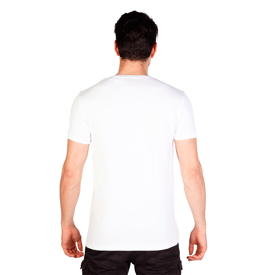 T-Shirt Homem Calvin Klein®    Branca