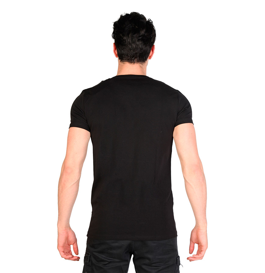 T-Shirt Homem Calvin Klein®    Preto e Cinza
