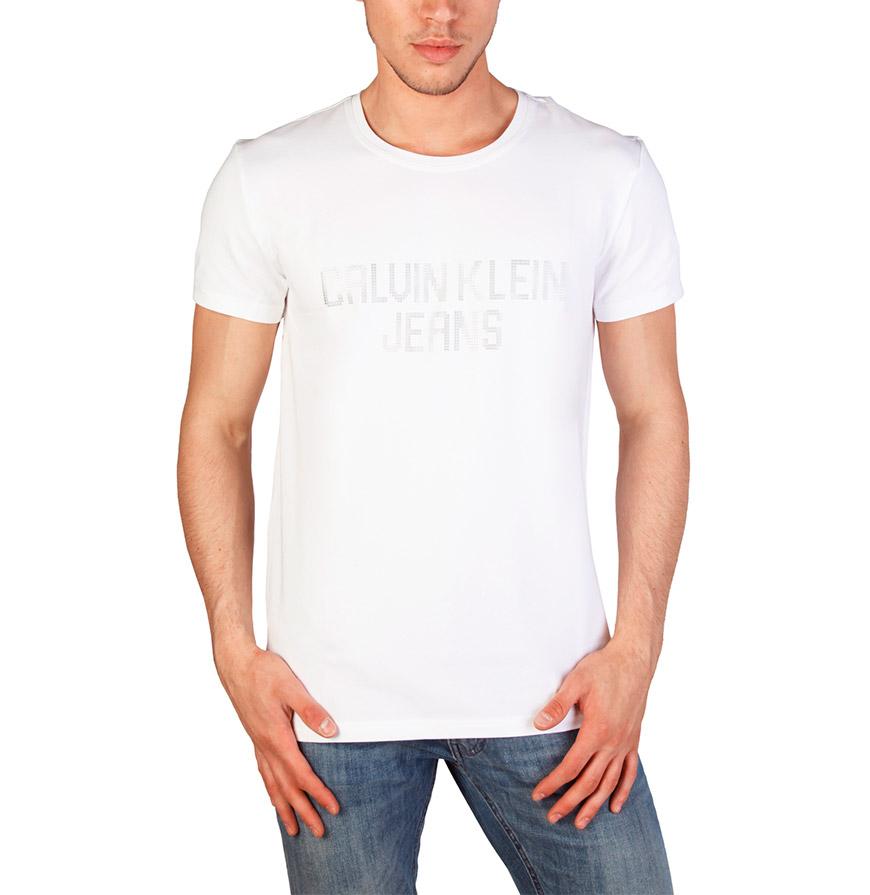 T-Shirt Homem Calvin Klein®    Branco