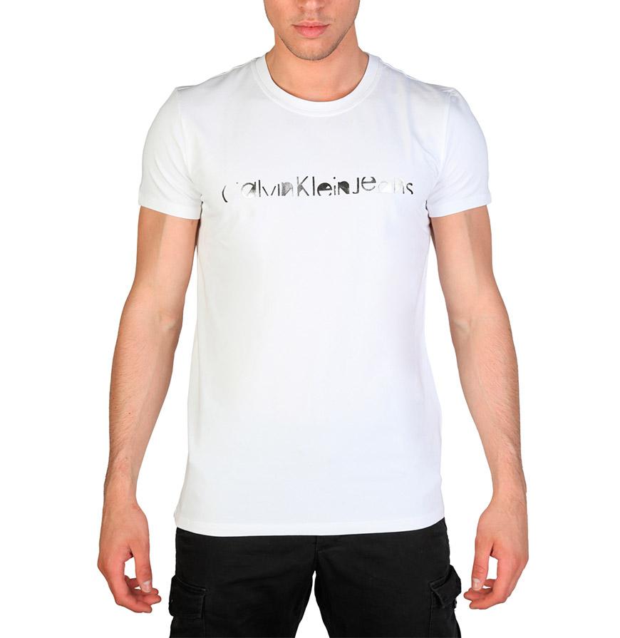 T-Shirt Fit Calvin Klein® | Branco