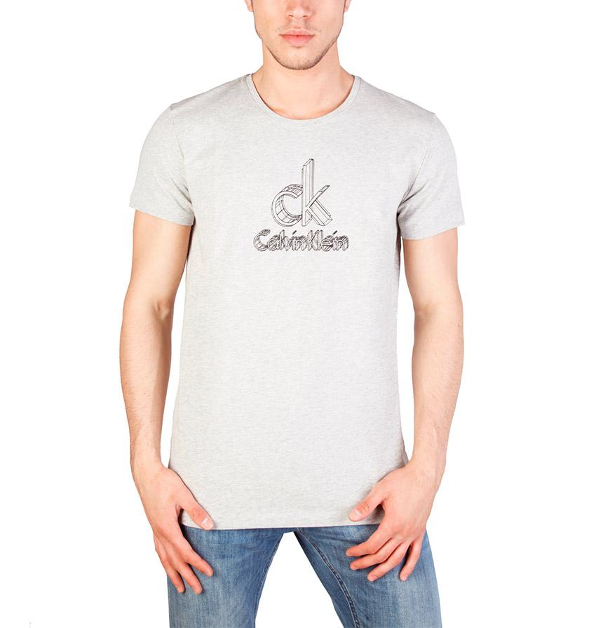 T-Shirt Calvin Klein® |  Cinza