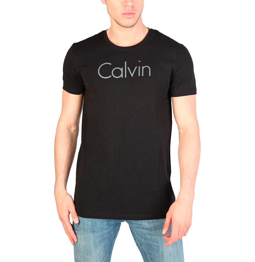 T-Shirt Calvin Klein®    Preto e Branco