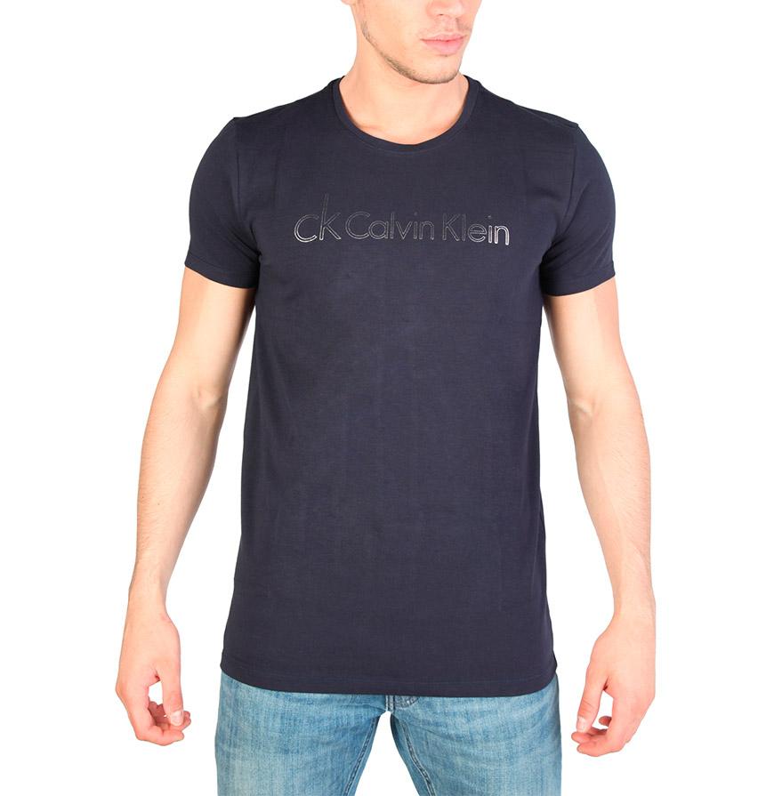 T-Shirt Calvin Klein® |  Azul e Cinza