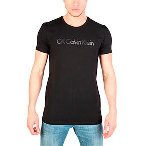 T-Shirt Calvin Klein® |  Preto e Cinza