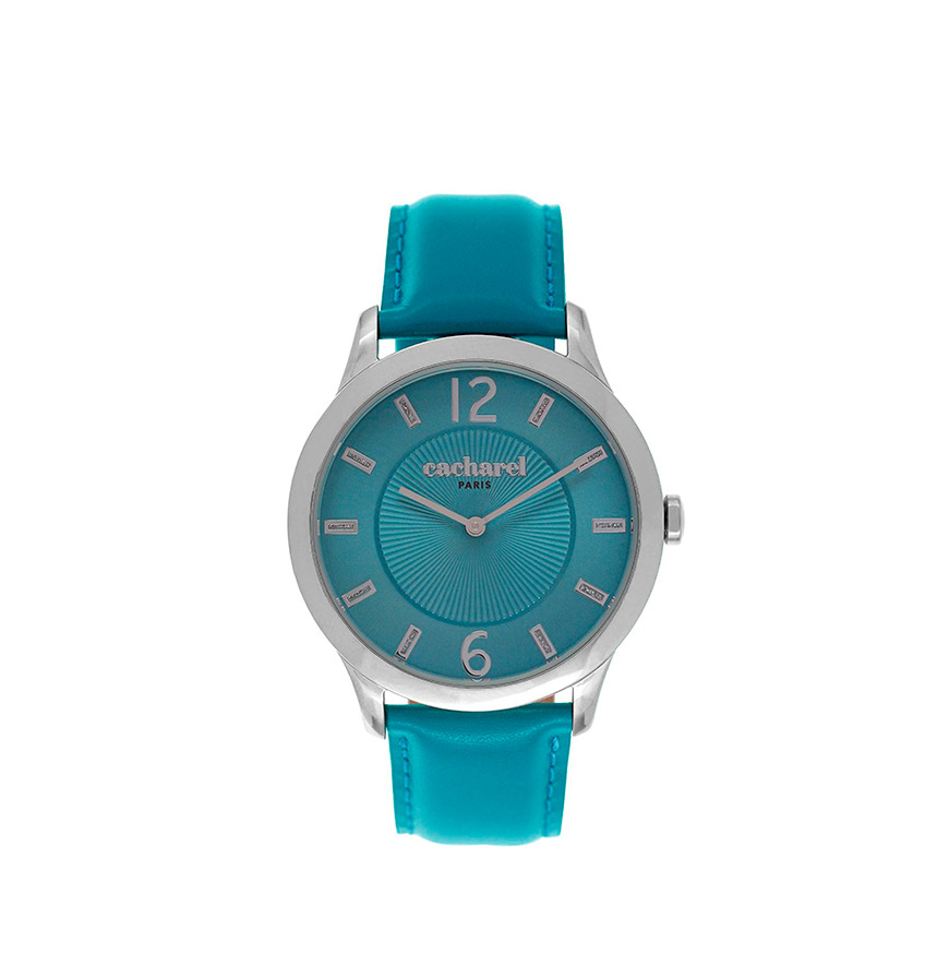 Relógio Cacharel® CLD026JJ | Azul Turquesa