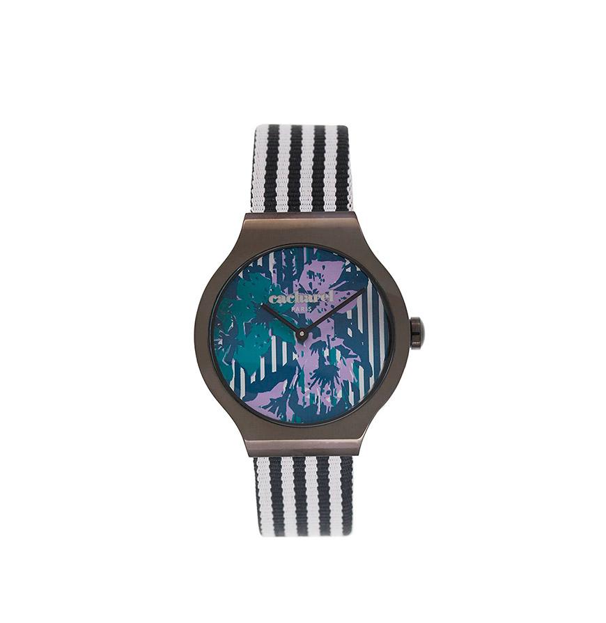 Relógio Cacharel® CLD0303GG    Preto e Banco