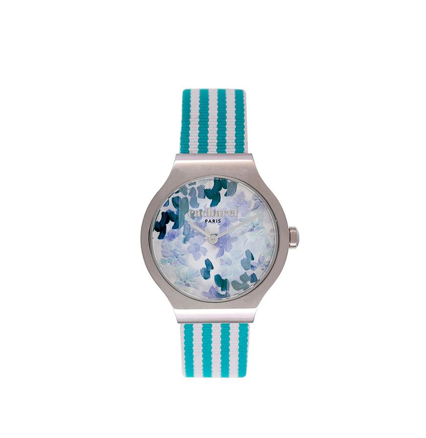 Relógio Cacharel® CLD030ZZ   Azul e Branco