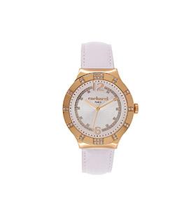Relógio Cacharel® CLD039S1BB   Branco e Dourado