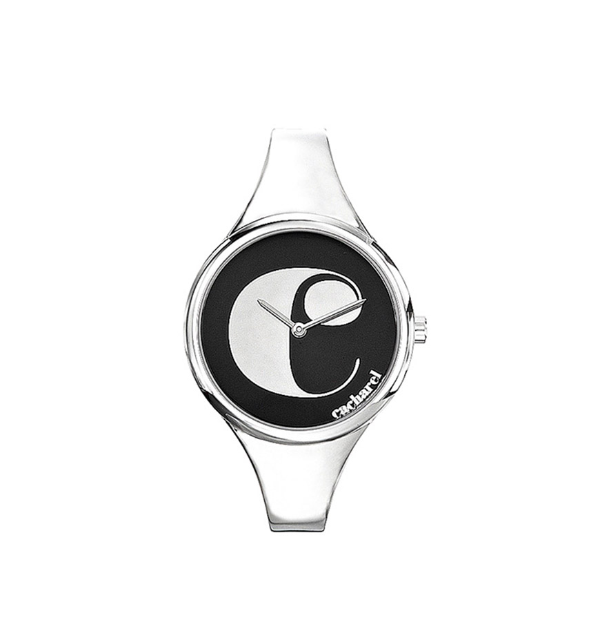 Relógio Cacharel® CU5341NC | Prateado e Preto