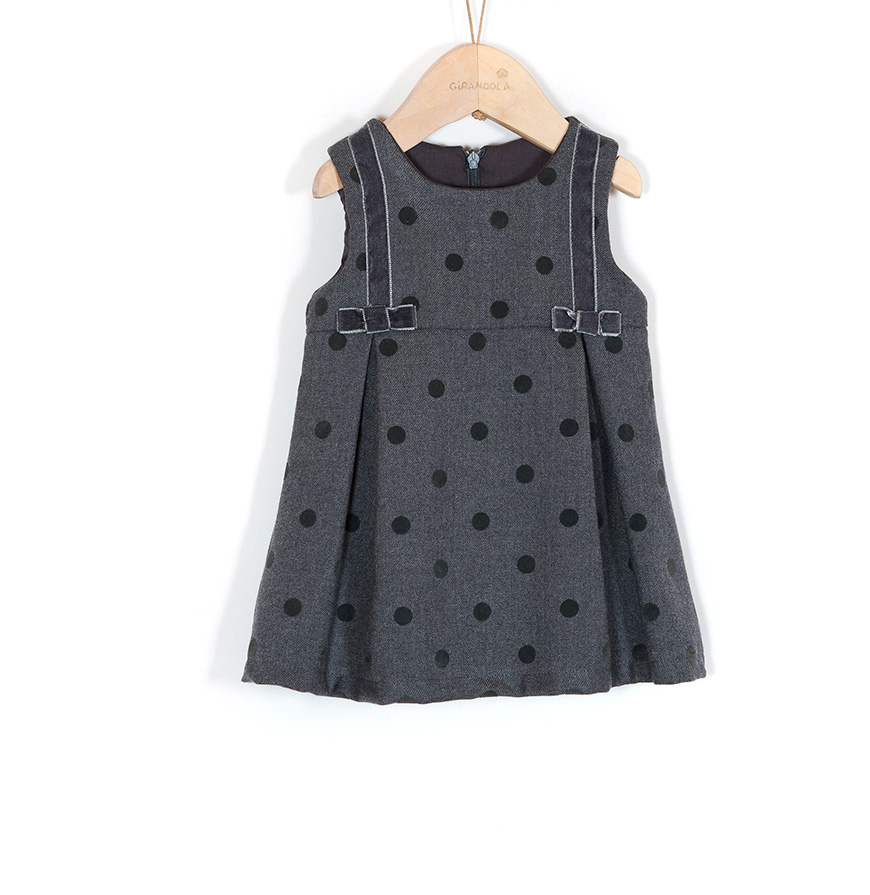 Vestido Mini Girandola®   Cinza