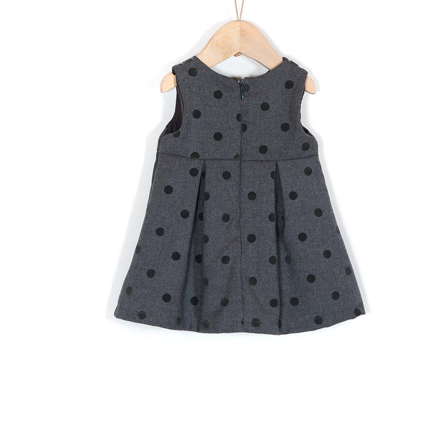 Vestido Mini Girandola® | Cinza