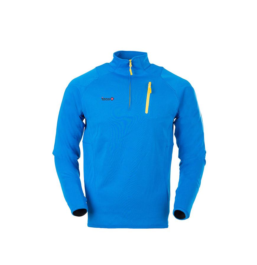 Camisola Polar Izas® Azul e Amarelo