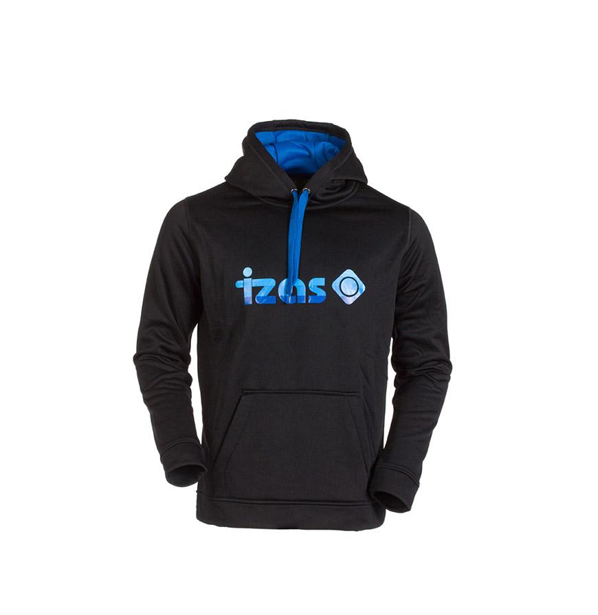 Camisola com Bolsos Izas® | Preto e Azul